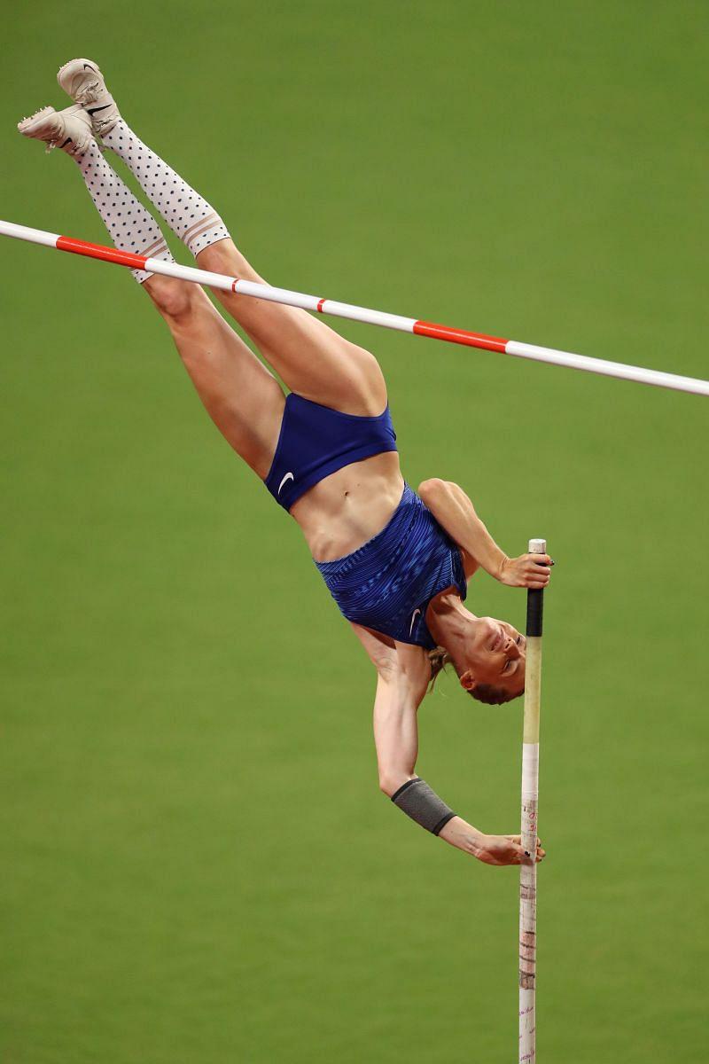 Anzhelika Sidorova will be in action at the 2021 Golden Gala Diamond League