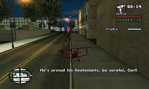 Dans Supply Lines, les joueurs contrôlent un avion distant (Image via Grand Theft Wiki)