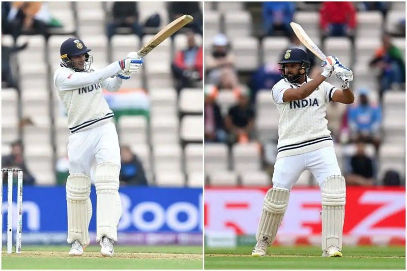 Shubman Gill and Rohit Sharma were impressive in tough conditions against the Kiwi quicks
