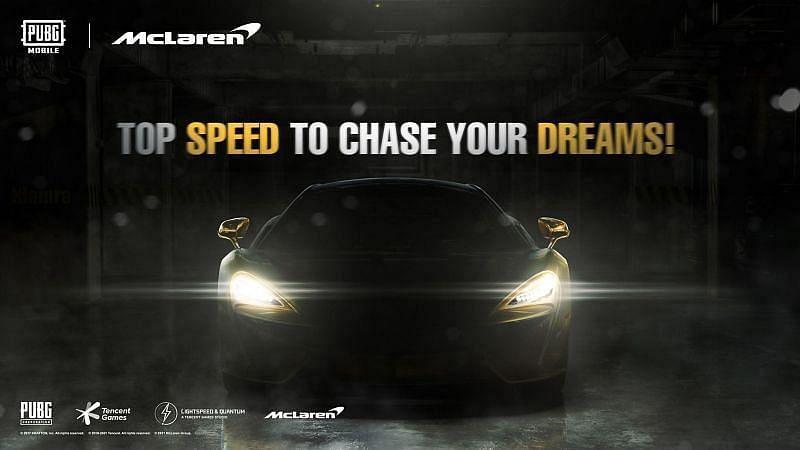 PUBG x McLaren Promo Image via: Sportskeeda