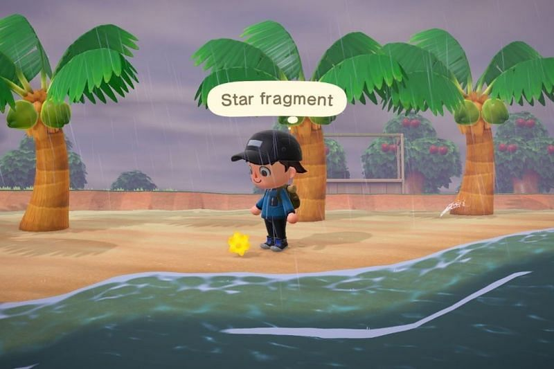 Star Fragments appear a day after you wish on a shooting star (Image via GoNintendo)