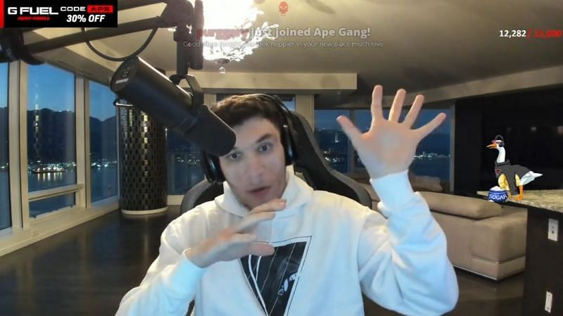 TrainWrecks' gambling streams have been flagged by other streamers as dangerous for the platform (Image via Trainwreckstv, Twitch)