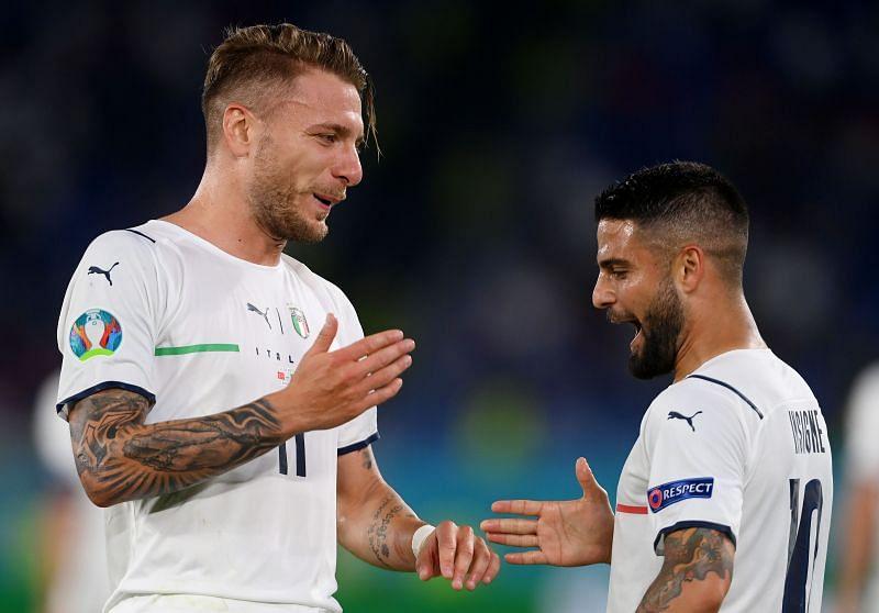 Italy take on Switzerland this week