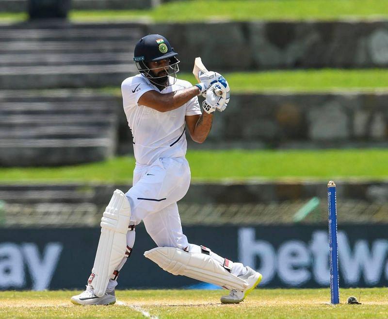 हनुमा विहारी ने वेस्टइंडीज के खिलाफ 2 टेस्ट मैचों की 4 पारियों में 289 रन बनाए, जिसमें 2 अर्धशतक और एक शतक शामिल
