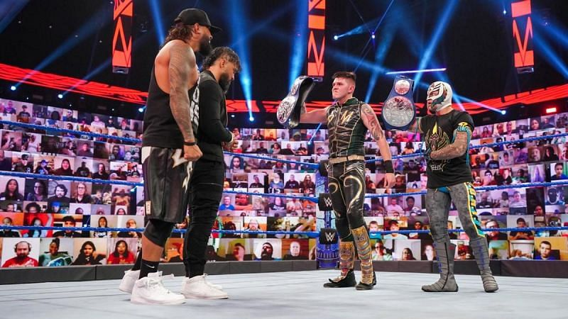 The Usos will return to the tag team title picture tonight