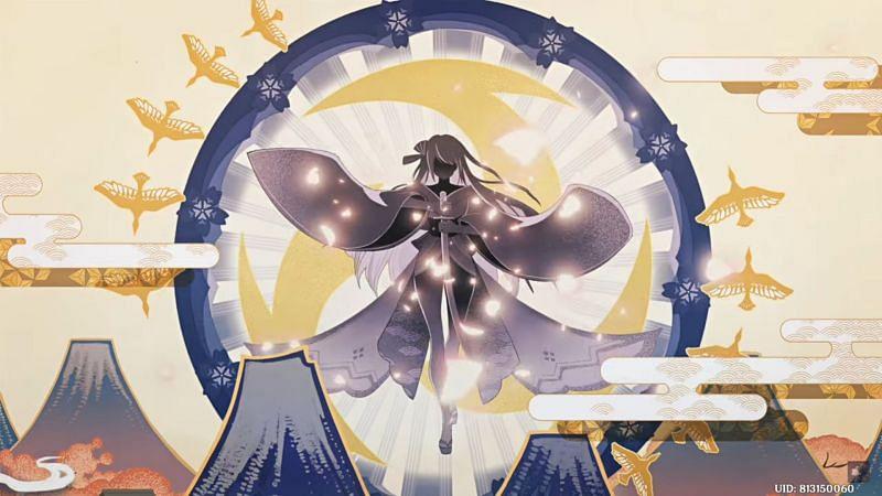 Kazuha describes Inazuma and the Electro Archon (image via LyurGG)