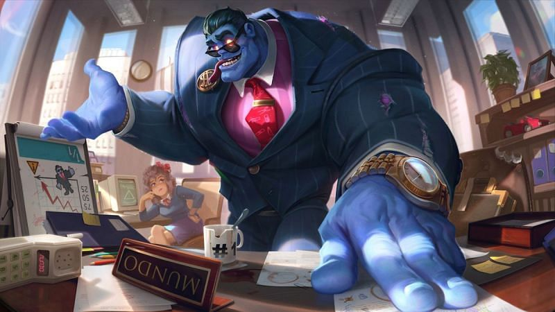Mundo jungle buffs set for League of Legends patch 11.13 (Image via Riot Games)