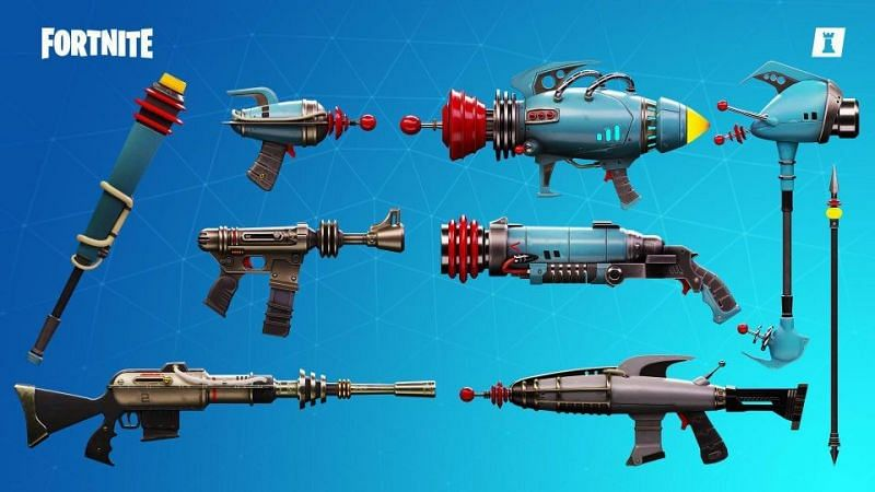 Save the World weapons in Battle Royale? Yes, please! (Image via Fortnite/Epic Games)