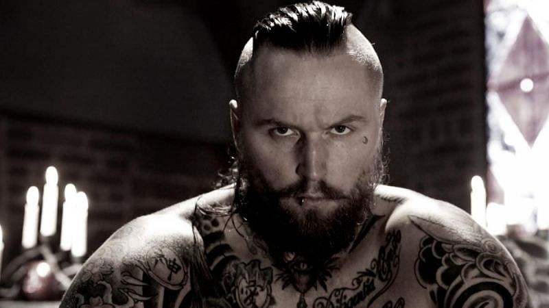 Aleister Black spent two years on WWE