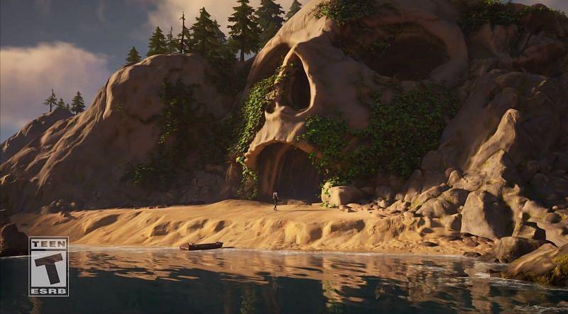 Spooky skull cave (Image via Fortnite/Epic Games)