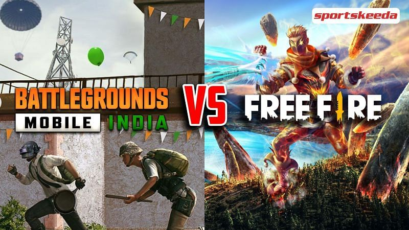 BGMI and Free Fire are battle royale games on the mobile platform