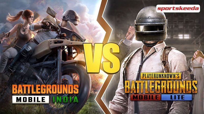 Comparing Battlegrounds Mobile India and PUBG Mobile Lite