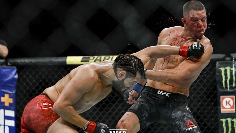 Jorge Masvidal loads it up against Nate Diaz
