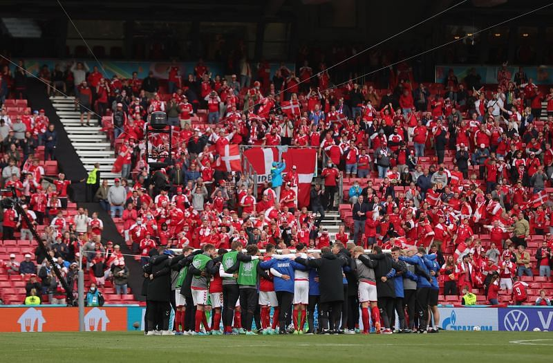 Denmark's strength was in their team unity on Saturday.