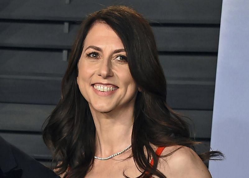 MacKenzie Scott donated $2.7 billion from her net worth (Image via Forbes)