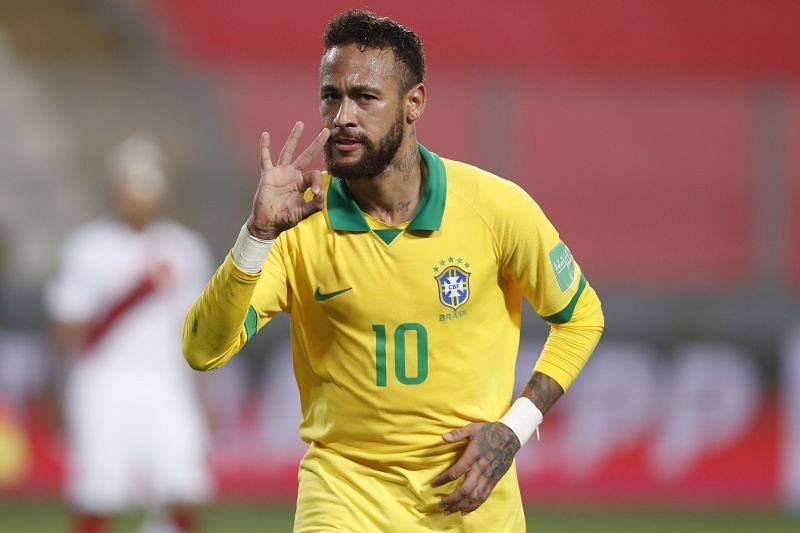 Brazil play Ecuador on Friday