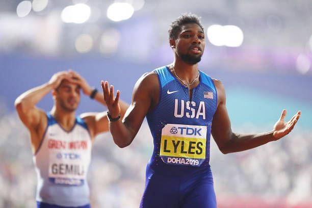Noah Lyles is the favorite to win the 200m at the Tokyo Olympics