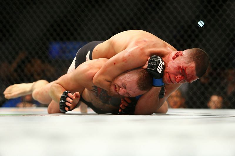Nate Diaz handed Conor McGregor his first UFC loss in embarrassing fashion