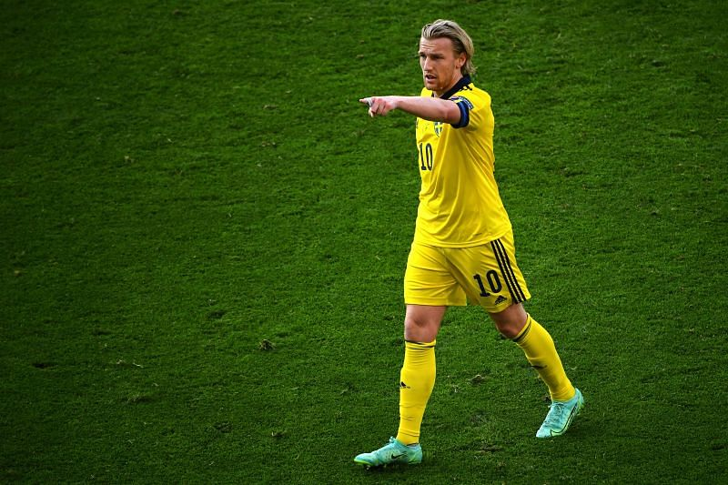 Emil Forsberg scored four goals for Sweden