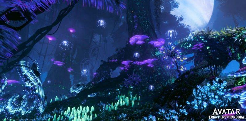 The beautiful world of Pandora (Image via Ubisoft)