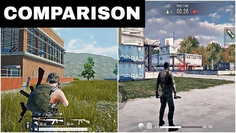 दोनों गेम्स का ग्राफिक्स