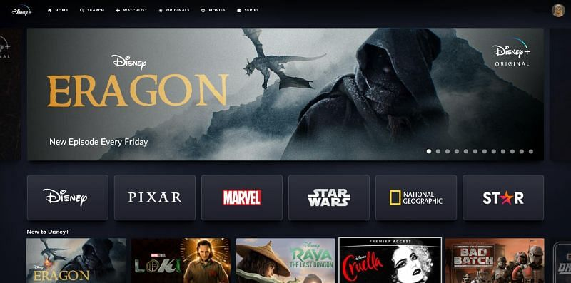 Concept Poster of Eragon series on Disney+. Image via: twitter.com/DavidBallin1