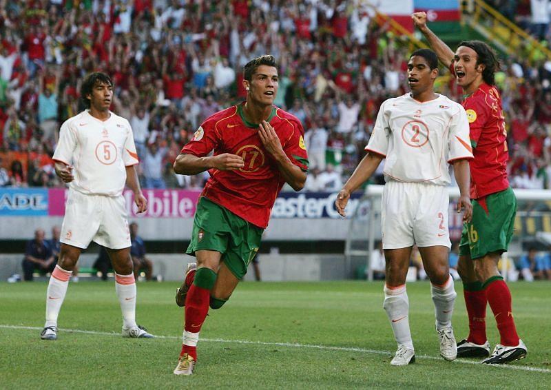 Euro 2004: Portugal v Holland