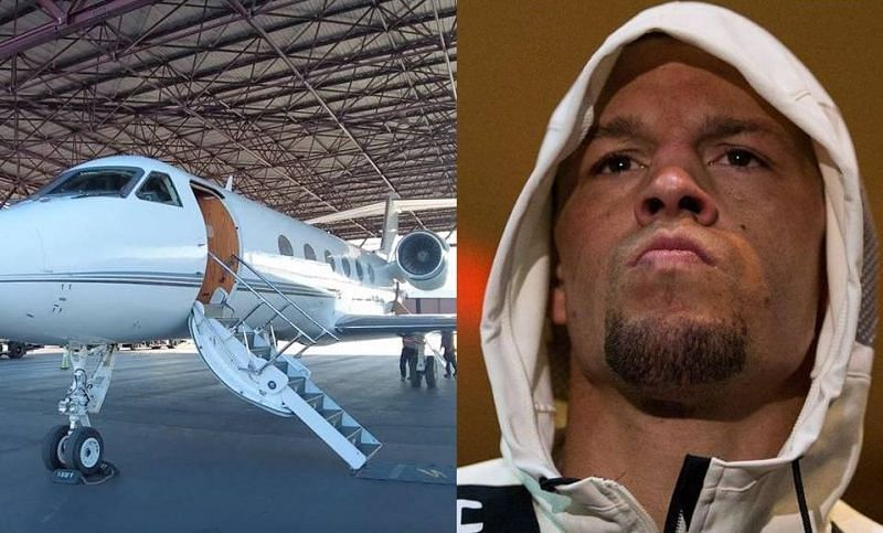 From travelling on private jets to owning stylish vehicles, Nate Diaz is a bona fide MMA megastar