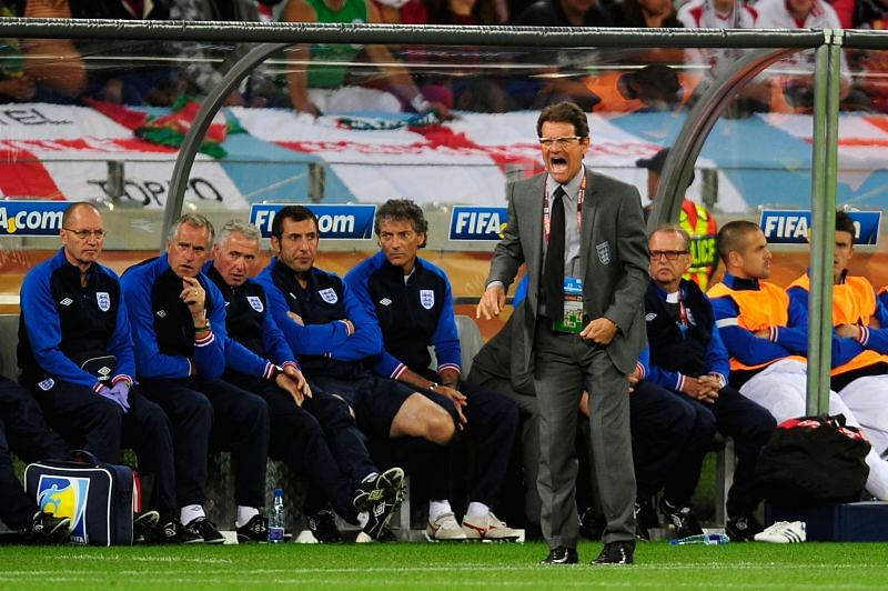 Fabio Capello was criticised as England manager but achieved results.