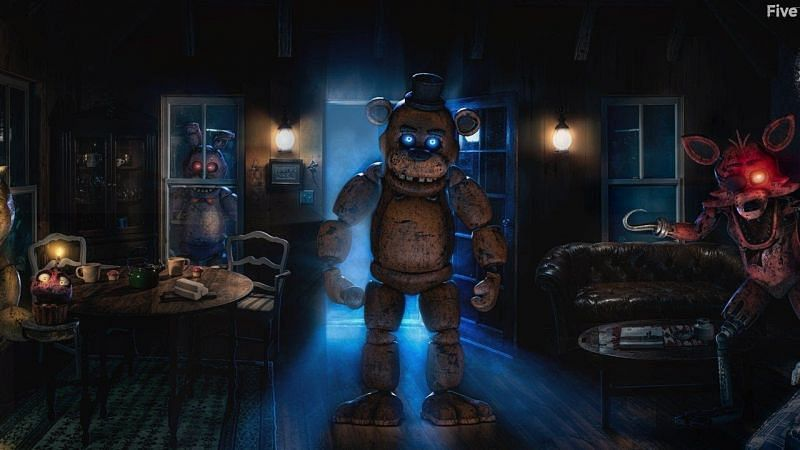 FNAF AR uses the real-time location feature (Image via GameTrailers)