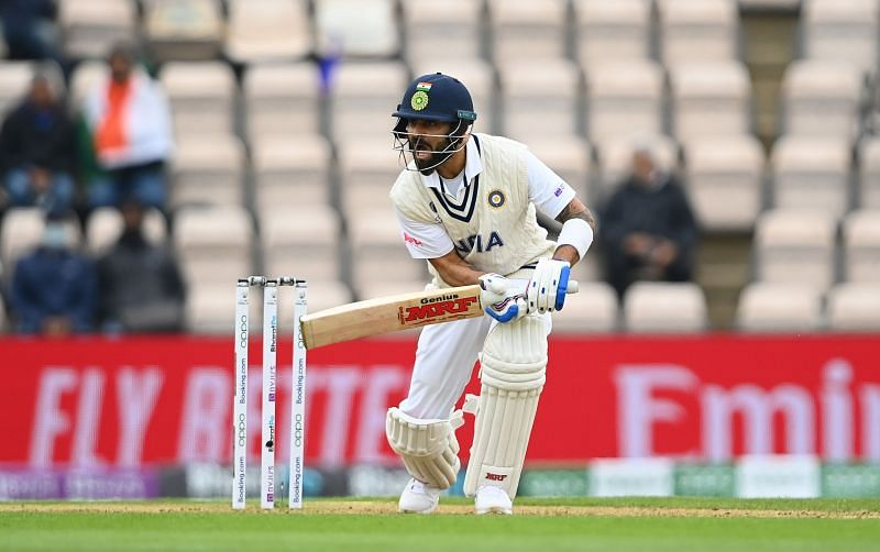 Virat Kohli was circumspect for the majority of his innings