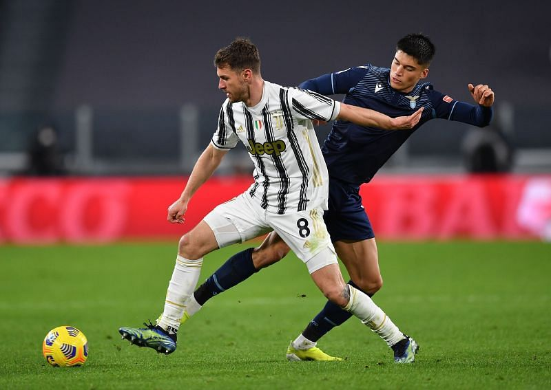 Aaron Ramsey in action for Juventus