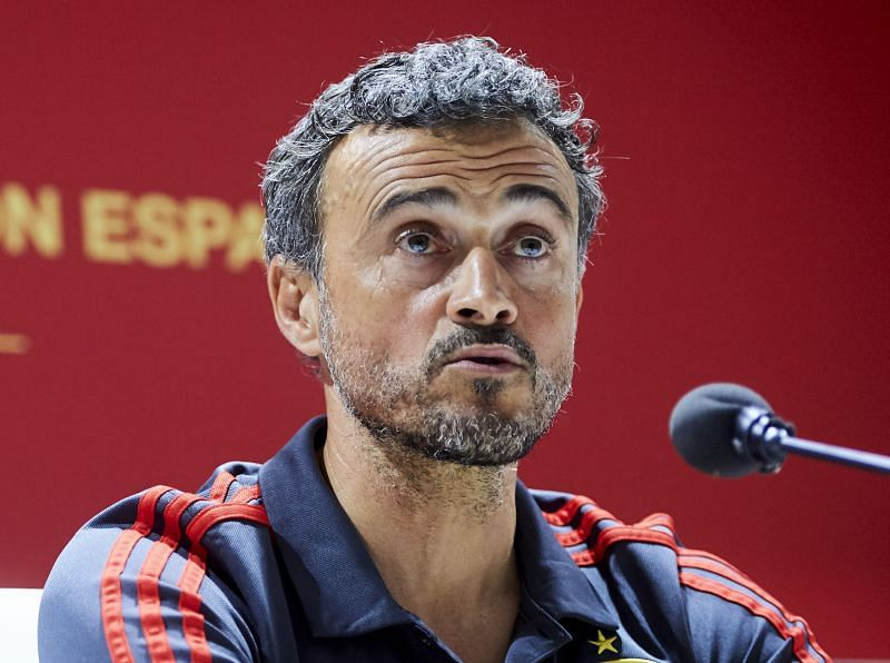 Spain manager Luis Enrique is under pressure after an opening draw against Sweden