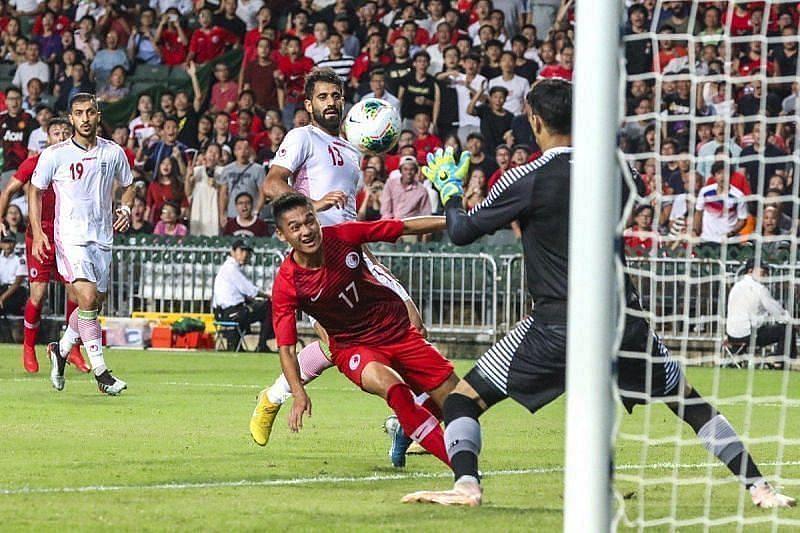 Iran and Iraq lock horns at Sheikh Ali bin Mohammed Al Khalifa Stadium