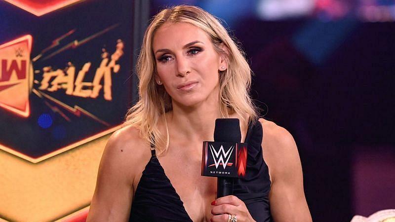 Charlotte Flair on RAW Talk