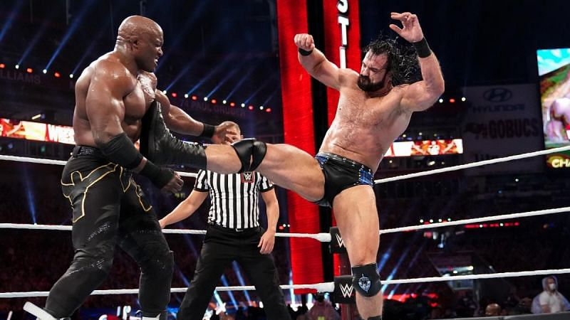 Bobby Lashley defeated Drew McIntyre at WrestleMania 37.