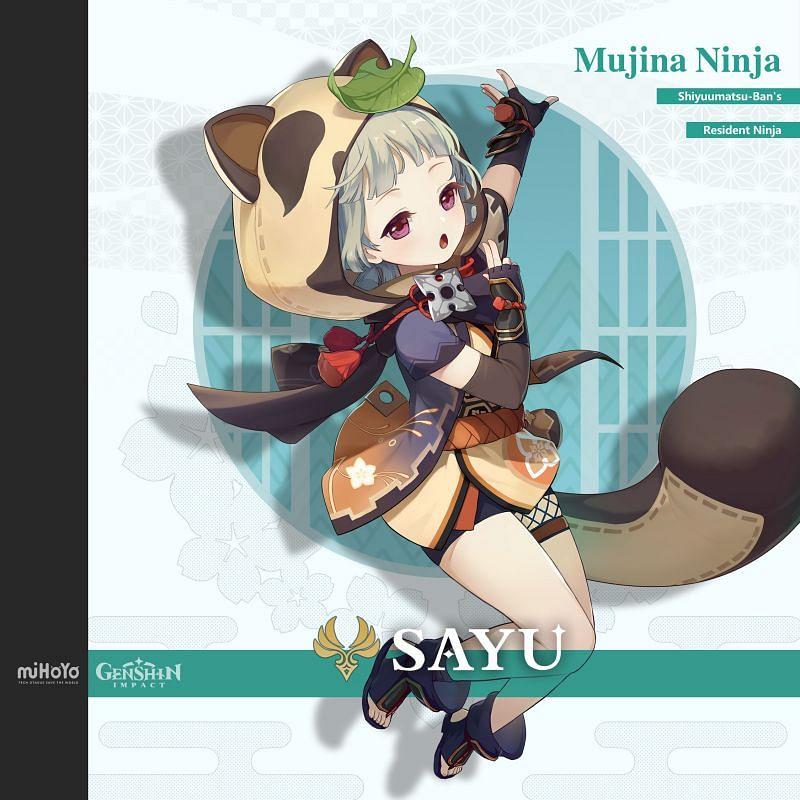 Sayu (image via Genshin Impact)