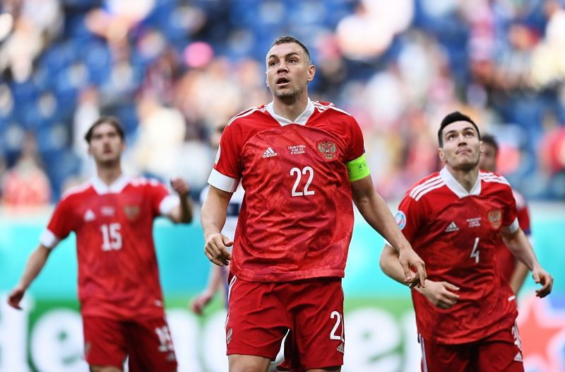 Russia take on Denmark this week