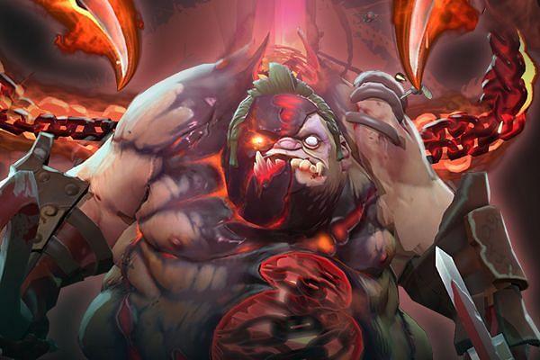 Pudge gains extra HP through Flesh Heap (Image via Valve)