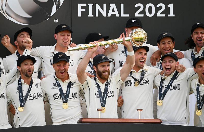 New Zealand are the inaugural ICC World Test Championship winners