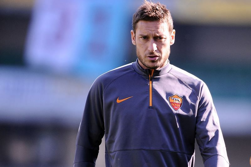 Francesco Totti brought international values to his club career with AS Roma