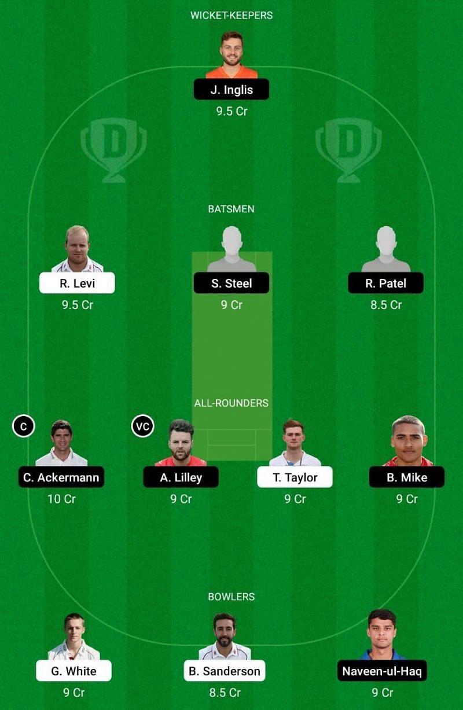 NOR vs LEI Dream11 Team
