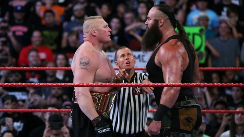 Brock Lesnar and Braun Strowman