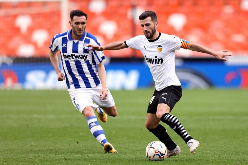 Jose Gaya played 33 times in the league this season. (Photo by Angel Martinez/Getty Images)