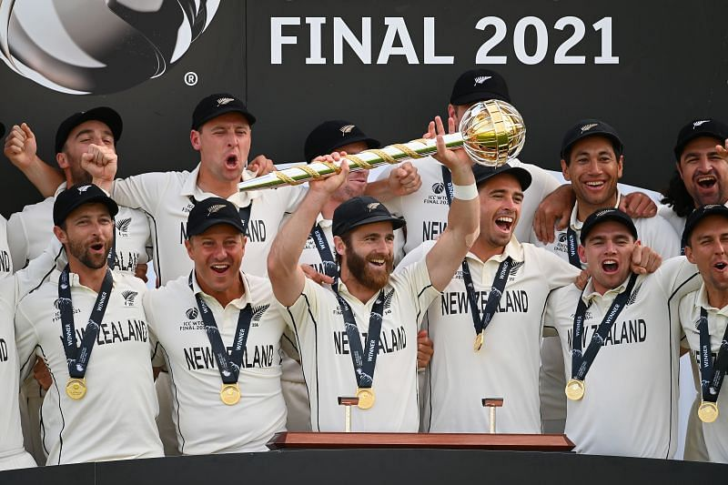 New Zealand are the defending champions of the ICC World Test Championship