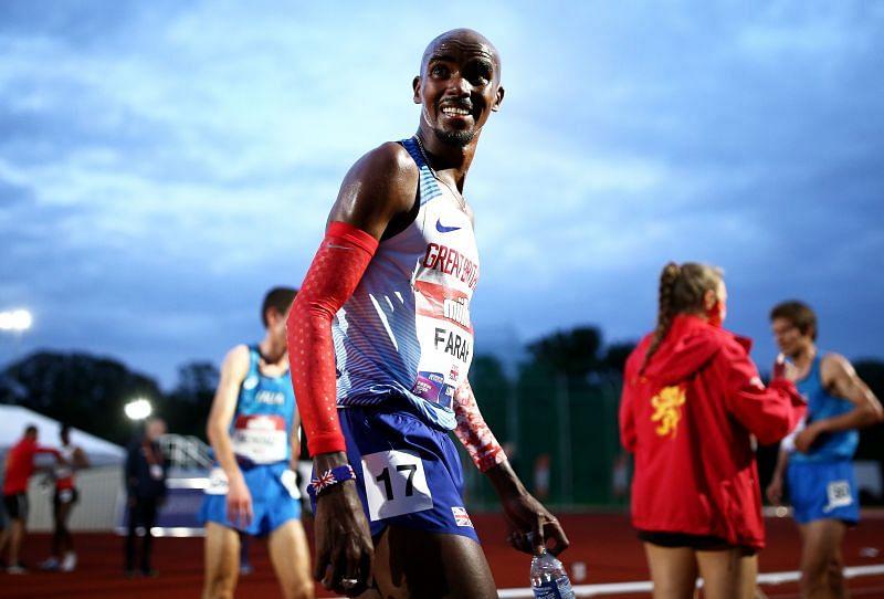 Mo Farah will run in the British Athletics' Championships 10,000m event
