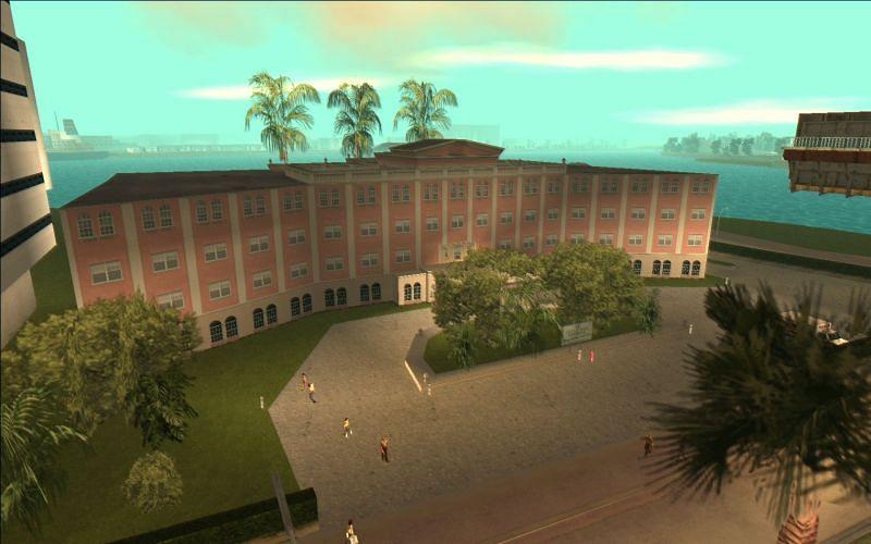 L'hôpital Ocean View (Image via GTA Wiki)