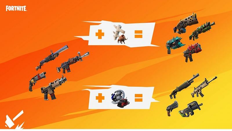 Players could craft primal weapons in Season 6. Image via Epic Games Store