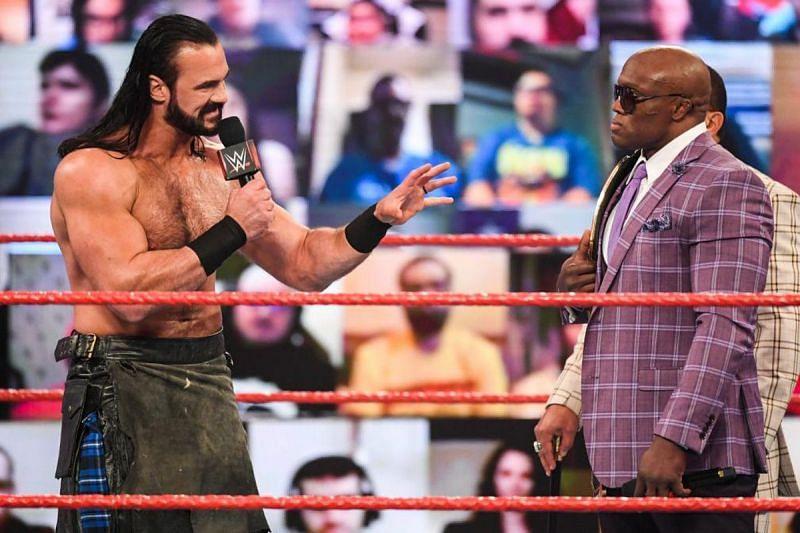 Drew McIntyre and Bobby Lashley in WWE
