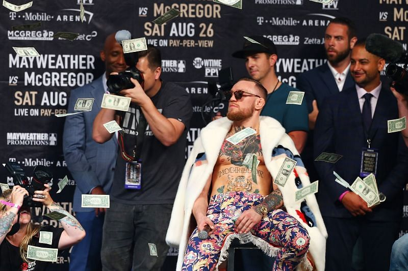 Floyd Mayweather Jr. v Conor McGregor World Press Tour - New York